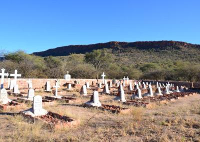 Cimitero tedesco Waterberg National Park - Diario di viaggio in Namibia