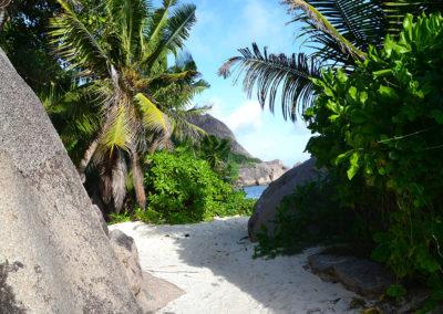 Sentiero per Anse Source d'Argent La-Digue - Diario di viaggio alle Seichelles
