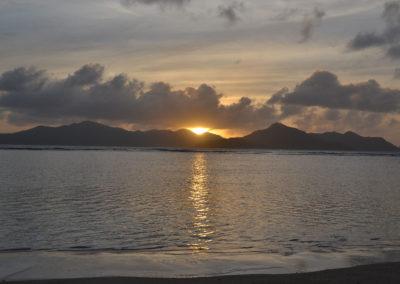 -tramonto La Digue - Diario di viaggio alle Seichelles