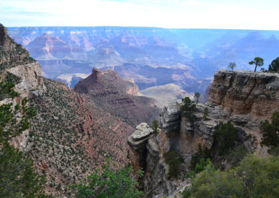 Moran Point Grand Canyon - Diario di viaggio in USA