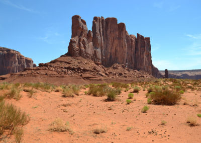 Thunderbird mesa monument valley - Diario di viaggio in USA