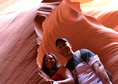 Antelope Canyon Lower Page - Diario di viaggio in USA