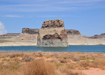Lake Powell Lone Rock Page - Diario di viaggio in USA