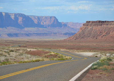 AZ-64 e US-89 Grand Canyon verso Page - Diario di viaggio in USA