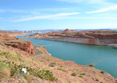 Colorado Glen Canyon Dam Page - Diario di viaggio in USA