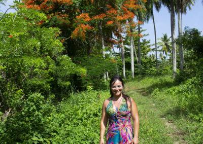 Sentiero per la Playita Las Galeras - Diario di viaggio a Santo Domingo