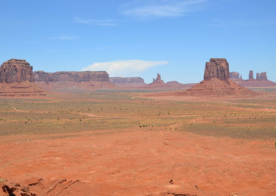 Artist's Point Monument Valley - Diario di viaggio in USA