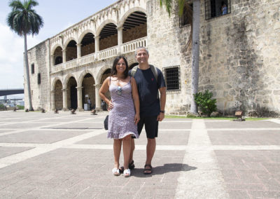Alcàzar de Colòn Santo Domingo Diario di viaggio a Santo Domingo