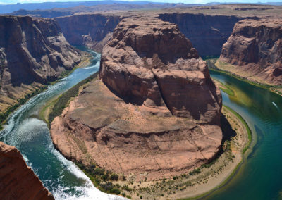 22-Horseshoe Bend Page - Diario di viaggio in USA