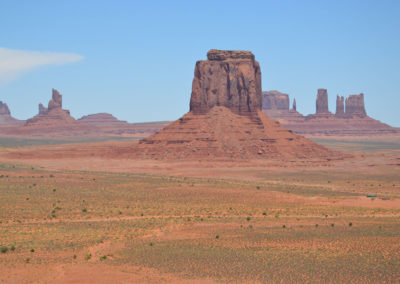Merrick Butte Monument Valley - Diario di viaggio in USA