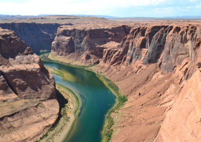 Horseshoe Bend Page - Diario di viaggio in USA
