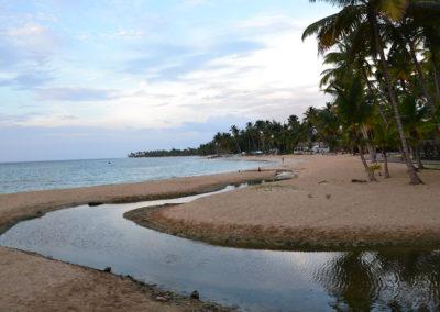 -Playa Las Terrenas zona centrale - Diario di viaggio a Santo Domingo