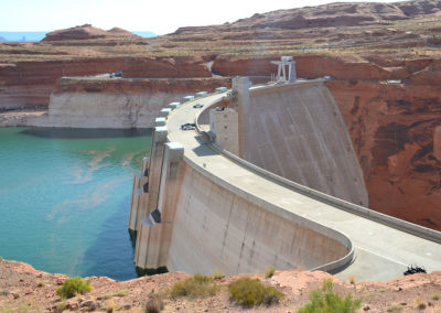 Glen Canyon Dam - Diario di viaggio in USA