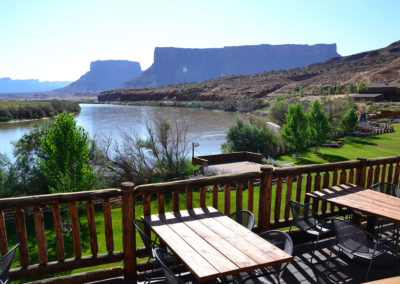 Panorama Red Cliff Lodge Moab - Diario di viaggio in USA