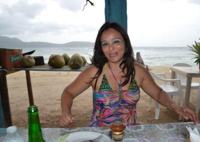 -Ristorante da Isabel la Playita Las Galeras - Diario di viaggio a Santo Domingo
