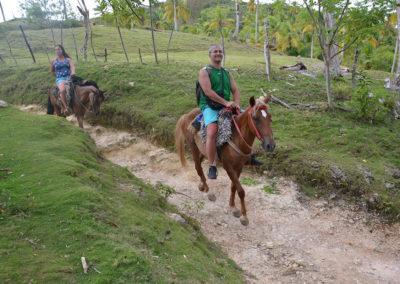Cavalcata alla cascata El Limòn - Diario di viaggio a Santo Domingo