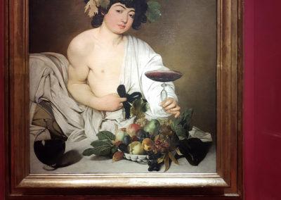 Bacco adolescente di Caravaggio - 3 giorni a Firenze