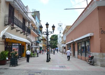 Calle El Conde Santo Domingo Diario di viaggio a Santo Domingo