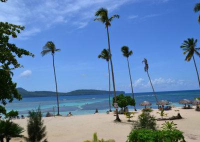 Veduta dal La Playita Restaurant & Beach Bar - Diario di viaggio a Santo Domingo
