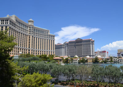 Bellagio Luxury Resort & Casino-e Caesars Palace Hotel & Casinò Las Vegas Diario di viaggio in Usa