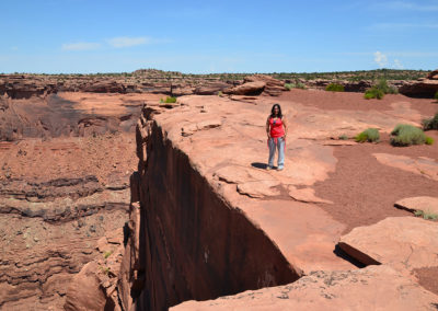 Dead Horse Point State Park Canyoland Moab - Diario di viaggio in USA