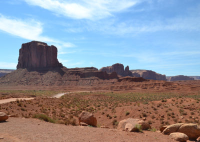 -Elephant butte monument valley - Diario di viaggio in USA