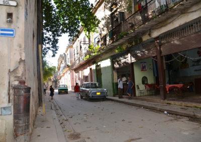 Calle Sol, L'Avana - Diario di viaggio a Cuba