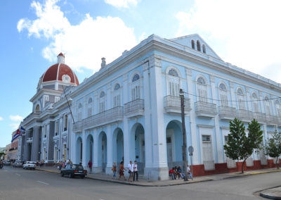 Museo Provincial e Palacio de Gobierno, Cienfuegos - Diario di viaggio a Cuba