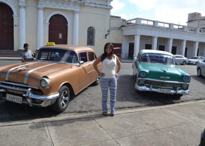 Auto anni- 50, Parco Josè Martì, Cienfuegos - Diario di viaggio a Cuba