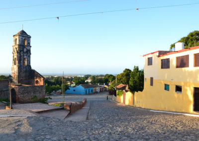 Calle Sta. Ana, Iglesia de Santa Ana, Trinidad - Diario di viaggio a Cuba