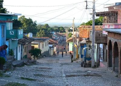 Calle San Procopio, Trinidad - Diario di viaggio a Cuba