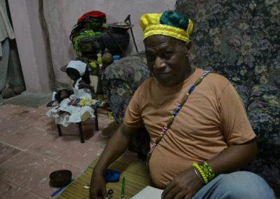 Casa del Santero per rito propiziatorio Santeria - Diario di viaggio a Cuba