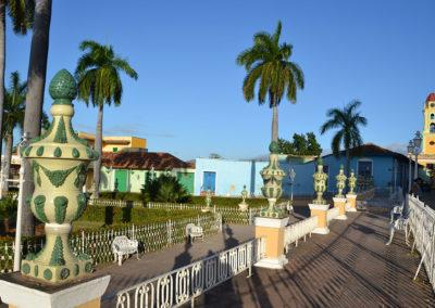 Plaza Mayor, Trinidad - Diario di viaggio a Cuba