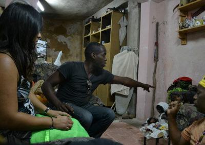 Casa Santero per rito propiziatorio Santeria - Diario di viaggio a Cuba