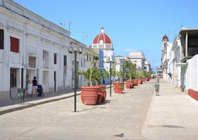 Calle Santa Isabel, Cienfuegos - Diario di viaggio a Cuba