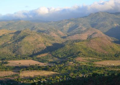 -Panorama da Cerro de la Vigia sulla Sierra del Escambray - Diario di viaggio a Cuba