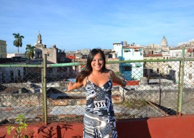 Panorama da terrazzo Casa de la Calle Luz Bed & Breakfast, L'Avana - Diario di viaggio a Cuba