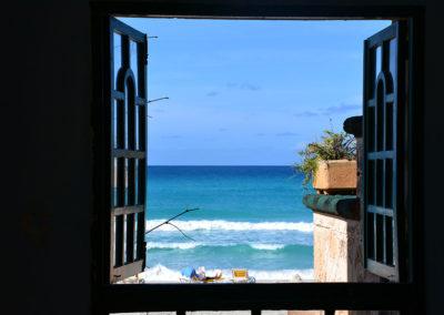 Ristorante vista mare, Playa Azul, Varadero - Diario di viaggio a Cuba