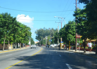 Avenida 1ra, Varadero - Diario di viaggio a Cuba