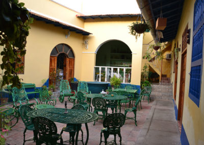 Cortile Hostal Lilì, Trinidad - Diario di viaggio a Cuba