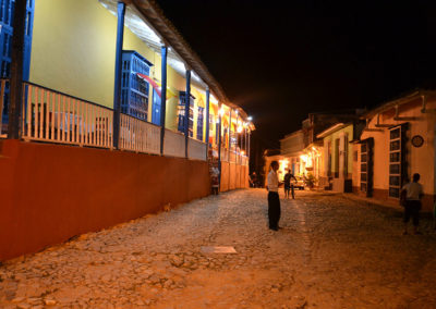 Trinidad di sera - Diario di viaggio a Cuba