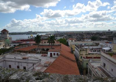 Panorama Havana da Basilica de San francisco de Asis, L'Avana - Diario di viaggio a Cuba