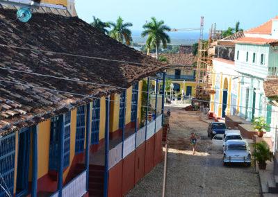Calle-Desengano-da-terrazzo-El-Hostal–Restaurante-Rintintin,-Trinidad