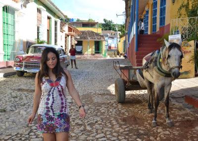 Calle Desengano, Trinidad - Diario di viaggio a Cuba