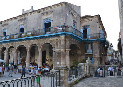 Palacio Marques de Aguas Claras, L'Avana - Diario di viaggio a Cuba
