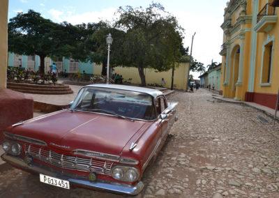 Auto d'epoca, Trinidad - Diario di viaggio a Cuba
