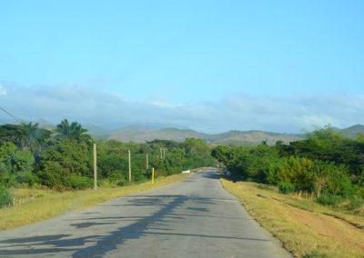 Strada Trinidad Santa Clara - Diario di viaggio a Cuba