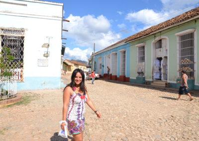 Calle Real del Jigùe, Trinitad - Diario di viaggio a Cuba