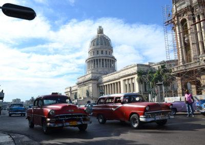 El Capitolio sul Paseo del Martì, L'Avana - Diario di viaggio a Cuba