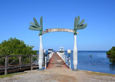 Molo Palma Rubia per Cayo Levisa - Diario di viaggio a Cuba